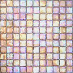 Recycled Glass Tile | Cedar Iridescent - Artifacts 1 x 1 Recycled Glass Tile AF-111I