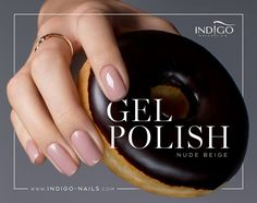 Gel Polish Nude Beige #nails #nail #nude #winter #indigo #sexy #classy