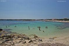 Playa Roca Bella, Es Pujols - Mediterranea Pitiusa- la Naviera de Fomentera