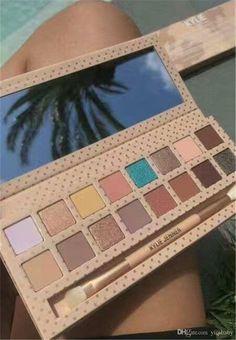 Nouveau maquillage Kylie Jenner palette de fard à paupières avec pinceau Prenez-moi en vacances pressé poudre fard à paupières Aloha livraison gratuite