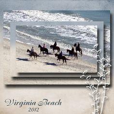 Virginia Beach - February Challenge - Weekly Layout Winners - Gallery - Scrap Girls Digital Scrapbooking Forum