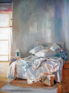 Blue and peaceful Painting Inspiration, Art Inspo, High School Art, Middle School, Messy Bed, Deep Art, A Level Art, Art Lessons Elementary, Elements Of Art