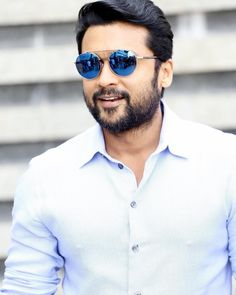 Image may contain: 1 person, sunglasses, beard and closeup Actors Images, Tv Actors, Actors & Actresses, Famous Indian Actors, Indian Celebrities, Actor Picture, Actor Photo, Mass Movie, Prabhas Pics