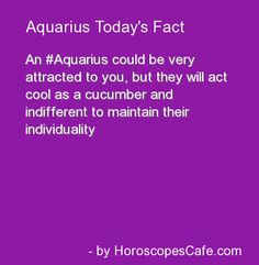 Aquarius Daily Fun Fact - Too Bad - they will miss out on the love of a lifetime.....