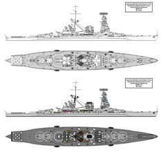 asked me to draw a cold war era modernised Kii class battleship with missile launchers and such. Here is the product of never were warship's. New Battleship, Navy Coast Guard, Imperial Japanese Navy, Tiger Tank, Naval History, Concept Ships, Deck Plans, Navy Ships, Military Equipment