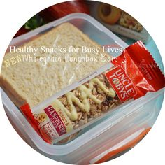 Making Kids' Lunches Healthy and Fast Plus WIN With Uncle Tobys!