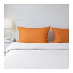 IKEA - DVALA, Pillowcase, , Cotton, feels soft and nice against your skin.