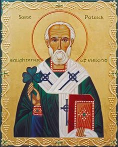 The Holy Hierarch Patrick, the Apostle of Ireland