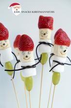 De ultieme snacks voor deze kerst, deze schattige kerstmannetjes ☻. Klik op *Bron voor meer foto's en uitleg.