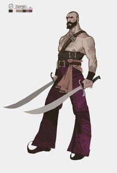 Pirate swordsman
