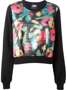 Shop Markus Lupfer floral houndstooth sweatshirt in Giulio from the world's best independent boutiques at farfetch.com. Over 1000 designers from 60 boutiques in one website.