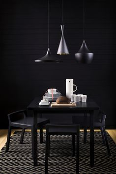 Anyone that works within the fields of interior design knows the name Tom Dixon. Here are our favorite interior design projects that he has developed! Room Furniture Design, Deco Furniture, Inspiration Design, Dining Room Inspiration, Furniture Inspiration, Scandinavian Interior, Home Interior, Luxury Dining Room, Dining Rooms
