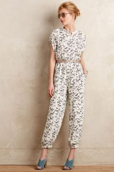 WE ♥ THIS!  ----------------------------- Original Pin Caption: Serengeti Jumpsuit - anthropologie.com #anthrofave