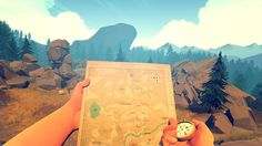 Firewatch. This game is so friggin' cool!