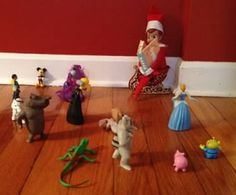 Story time with the Elf on the Shelf!