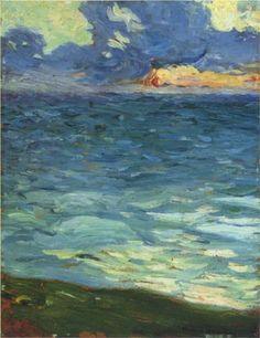 By the Sea - Henri Martin