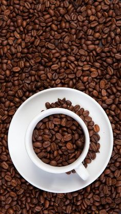 The latest iPhone11, iPhone11 Pro, iPhone 11 Pro Max mobile phone HD wallpapers free download, coffee beans, beans, coffee, mug - Free Wallpaper | Download Free Wallpapers