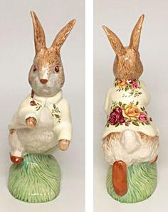 "Large Size 6.5"" Tall - Beswick Beatrix Potter Figurine ""Peter Rabbit""  | eBay"
