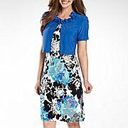 Danny & Nicole® 2-piece Jacket Dress