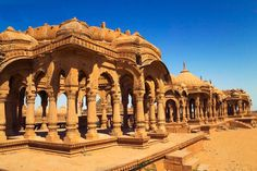#Realestateindia - Bada Bagh, is a garden complex around 6 km north of Jaisalmer. The site hosts a set of royal cenotaphs, or chhatris of Maharajas of Jaisalmer state, starting with Jai Singh II (d. 1743). Later on, many more cenotaphs were constructed here for other Bhattis.