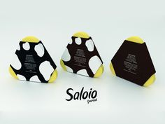 Packaging of the World: Creative Package Design Archive and Gallery: Saloio (Student Project)