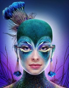 The Peacock & The Beauty on Behance
