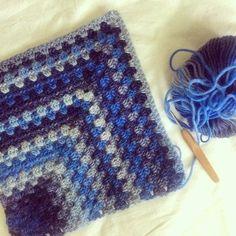 granny crochet afghan