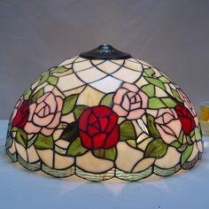 Rose Tiffany Lamp 16S0-109