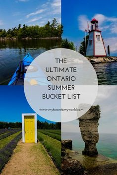 summer bucket list Tons of Things to do in Ontario - bucketlist Places To Travel, Travel Destinations, Places To Go, Things To Do Camping, Ontario Travel, Ontario Camping, Toronto Travel, Voyage Canada, Canada Summer