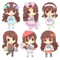 Image result for draw a chibi girl