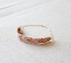woven chevron bracelet by minco jewelry