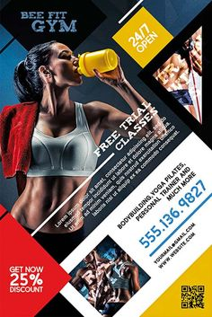 Fitness Gym Free PSD Flyer Template - http://freepsdflyer.com/fitness-gym-free-psd-flyer-template/ Enjoy downloading the Fitness Gym Free PSD Flyer Template created by Bestofflyers!   #Bar, #Club, #Elegant, #Family, #Fitness, #Gym, #Party, #Promotion, #Pub, #Sports, #Training, #Yoga