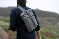 Redux Slingpack in ash grey by Modern Industry