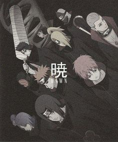 akatsuki, naruto, and anime kép Otaku Anime, Anime Naruto, Naruto Art, Manga Anime, Itachi Uchiha, Naruto Shippuden Anime, Shikamaru, Gaara, Pein Naruto