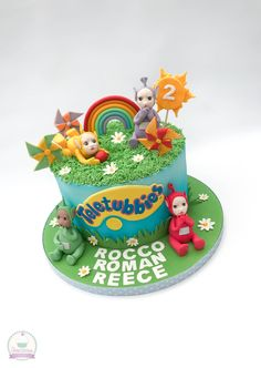 Teletubbies cake.