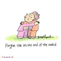 Buddha Doodles- forgive