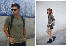 #Fashion4Two: military green outfits!