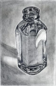Gcse art sketchbook still life 48 Best ideas How To Draw Glasses, Drawing Glasses, Value Drawing, Gcse Art Sketchbook, Sketchbook Ideas, Sketching, Sketchbook Assignments, Bottle Drawing, Reflection Art