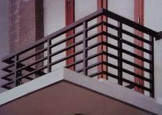 Aluminio moderna Balcón Barandilla