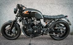 Billedresultat for cafe racer Honda Motorcycles, Custom Motorcycles, Custom Bikes, Cb 750 Cafe Racer, Cafe Racer Honda, Honda Nighthawk, Honda Cbx, Cb 750 Seven Fifty, Scrambler Moto