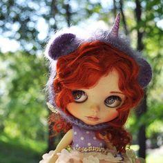Image result for  blythe doll light purple hair
