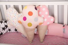 Almohadilla decorativa del bebé niños ropa de cama por BandanaShop