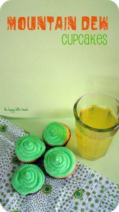 the happy little tomato: Mountain Dew Cupcakes