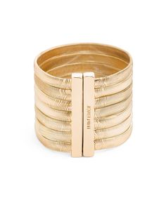 Medusa Bracelet. Bold. Sophisticated.