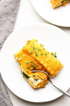 Delicious Vegan Recipes, Vegetarian Recipes, Cooking Recipes, Vegan Meals, Gluten Free Lasagna Noodles, Healthy Lasagna, Butternut Squash Lasagna, Vegan Dishes, Vegan Food