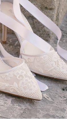 Bridal Heels, Wedding Heels, Ivory Wedding, Wedding Gowns, Bridal Outfits, Lace Up Heels, Beautiful Shoes, Stiletto Heels, Dream Wedding