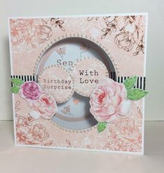 Card created using Heritage Rose collection, designed by Julie Hickey Heritage Rose, Craft Projects, Projects To Try, Craftwork Cards, Altenew, Christmas Past, Love Cards, Card Designs, Blossoms