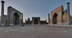 Registan Square, with the 3 madrasas facing each other, is the most well known place in Samarkand.