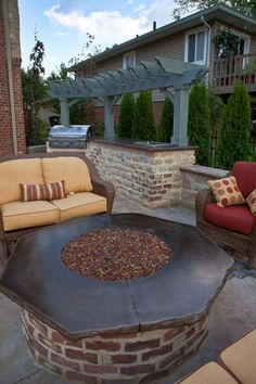 Klein's Lawn & Landscaping   Hardscapes   Firepits