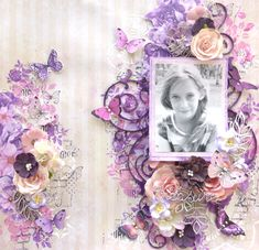Layout using Lemoncraft papers and 2Crafty Chipboard